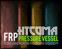 HTComa FRP Pressure Vessel Indonesia  large