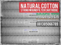 Natural Cotton String Wound Filter Cartridge Indonesia  large