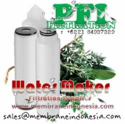 Pleated Filter Cartridge DOE SOE membrane Indonesia  large