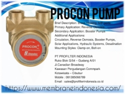 Procon Pump RO Membrane Indonesia  large
