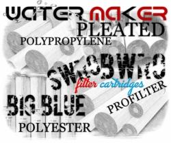 d Big Blue Pleated Filter Cartridge Polyester Polypropylene Membrane Indonesia  large
