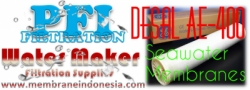 d d GE Osmonics Desal AE 400 Seawater Membrane Indonesia  large