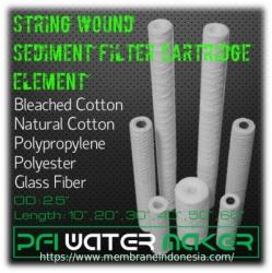 d d d d d String Wound Sediment Filter Cartridge Element Membrane Indonesia  large